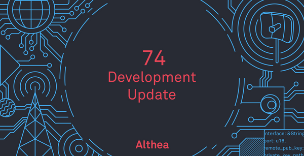 Althea Development Update #74: Automated Xdai bridge