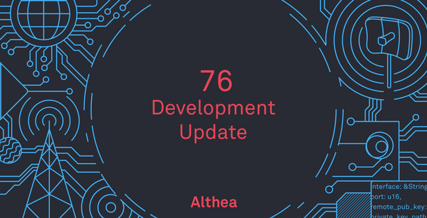 Althea Development Update #76: Automatic connection tuning