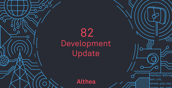 Althea Development Update #82: Direct router deposit with Wyre!